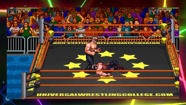 sconfitta in retromania wrestling