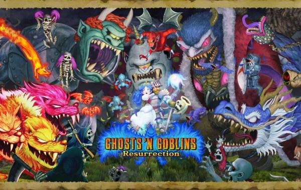 ghosts n goblins resurrection copertina