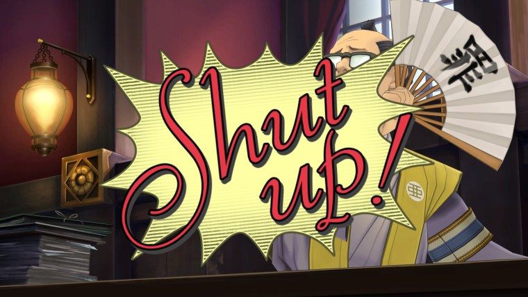 great ace attorney chronicles shut up