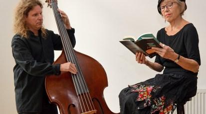 Dienstag, 10.11.2020, 19 Uhr – Lesung mit Musik: Doris Lerche und Frank Willi Schmidt