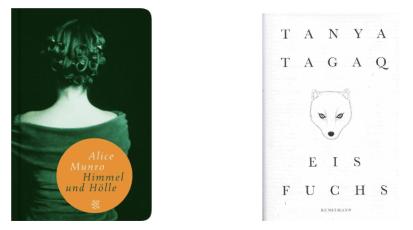 Donnerstag, 8.10.2020, 20Uhr – Lesung aus Werken von Alice Munro und Tanya Tagaq