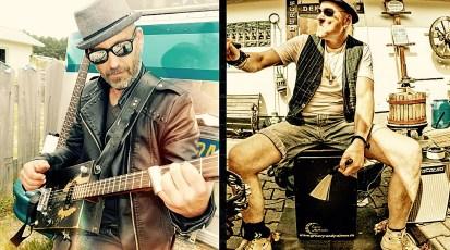 Freitag, 6.3.2020, 20:00 Uhr – Larssen Blues ( Paris ) & Andy Simon – live