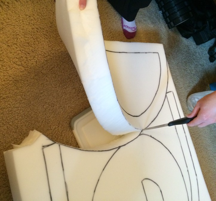 denkbot cosplay Step 14