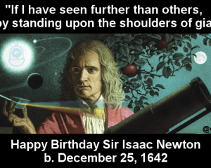 Newton's Birthday
