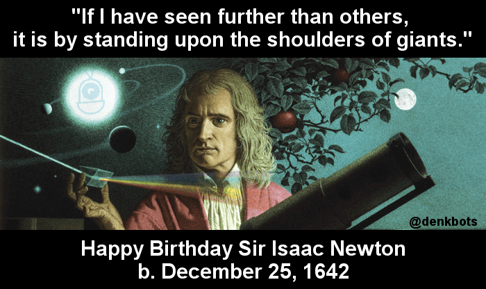 Newton's Birthday