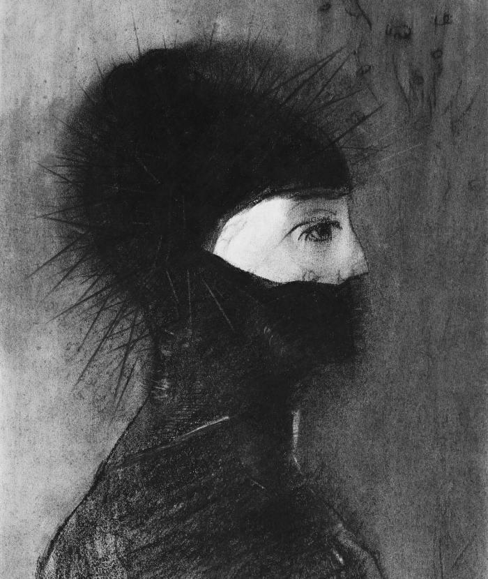 Bild: Odilon Redon, Armor (1891)