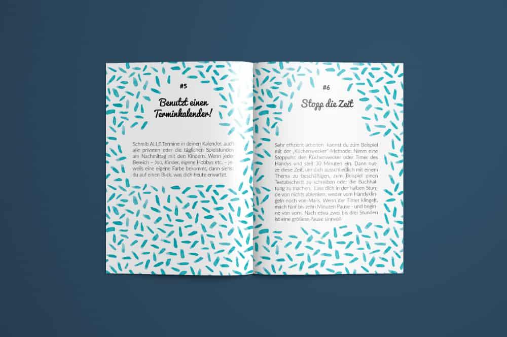 Denken und Handeln – die Konzeptagentur für langfristige Gestaltung hat für Co Working Toddler die Broschüre gestaltet