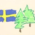 Schwedens Wälder zu Papier gekocht