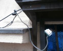 漏電するコンセント箇所