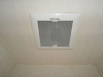 大阪府泉南市-三菱VD-15ZFC2二部屋用換気扇交換