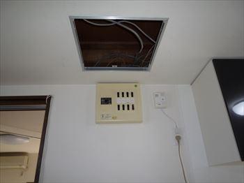 450角天井点検口工事