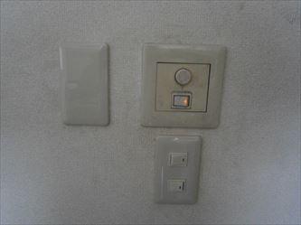 照明スイッチ増設