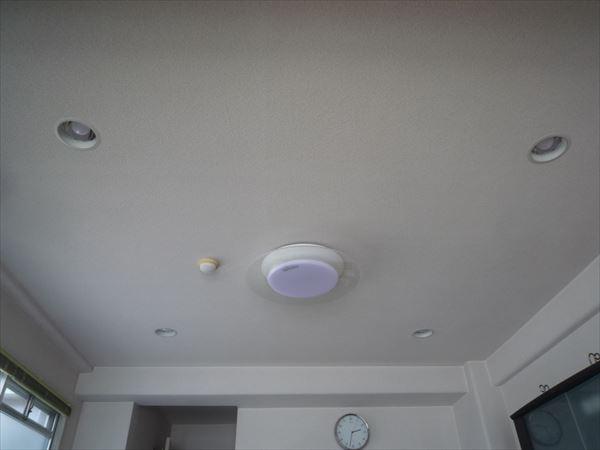 リビング白熱灯ダウンライト