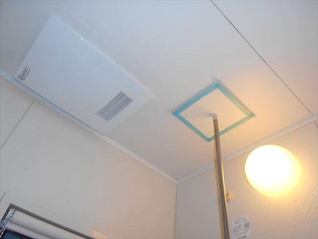 シンワDKT2500換気扇分離型浴室暖房乾燥機交換