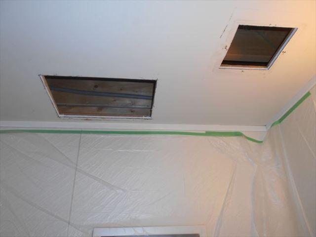 浴室乾燥換気扇開口拡張
