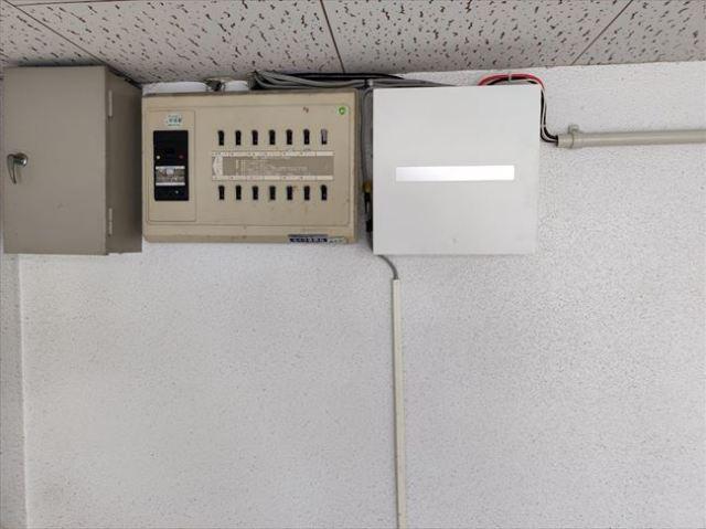 増設分電盤取付位置
