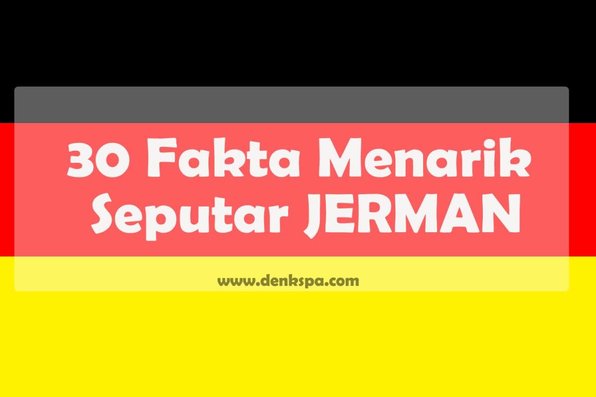30 Fakta Menarik Seputar JERMAN German Culture Blog
