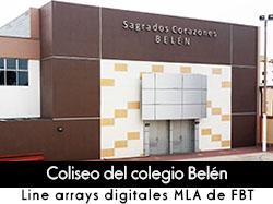 Caso de estudio: coliseo del colegio Belén