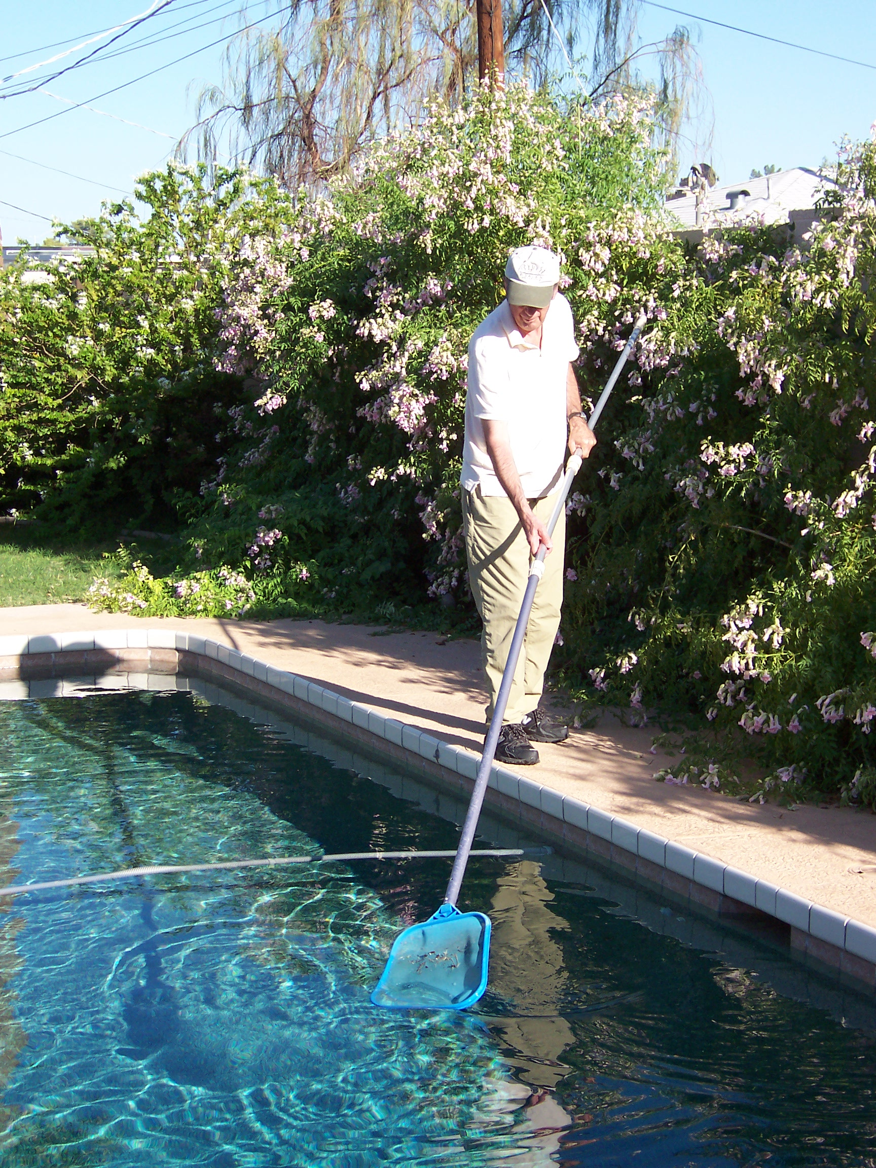 Dennis Cleaning Pool