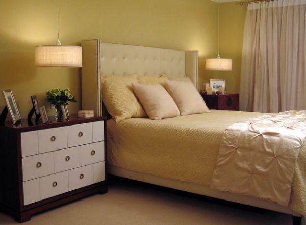 den trang tri phong ngu 3 Đèn trang trí phòng ngủ đẹp