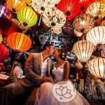 Đèn lồng Hội An trang trí tiệc cưới