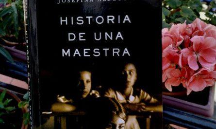 "Portada de ""historia de una maestra"" de Josefina Aldecoa"