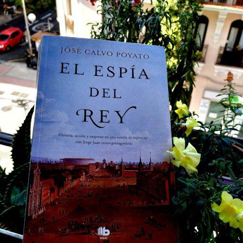 """Portada """"El espía del Rey"""" de José Calvo Poyato"""