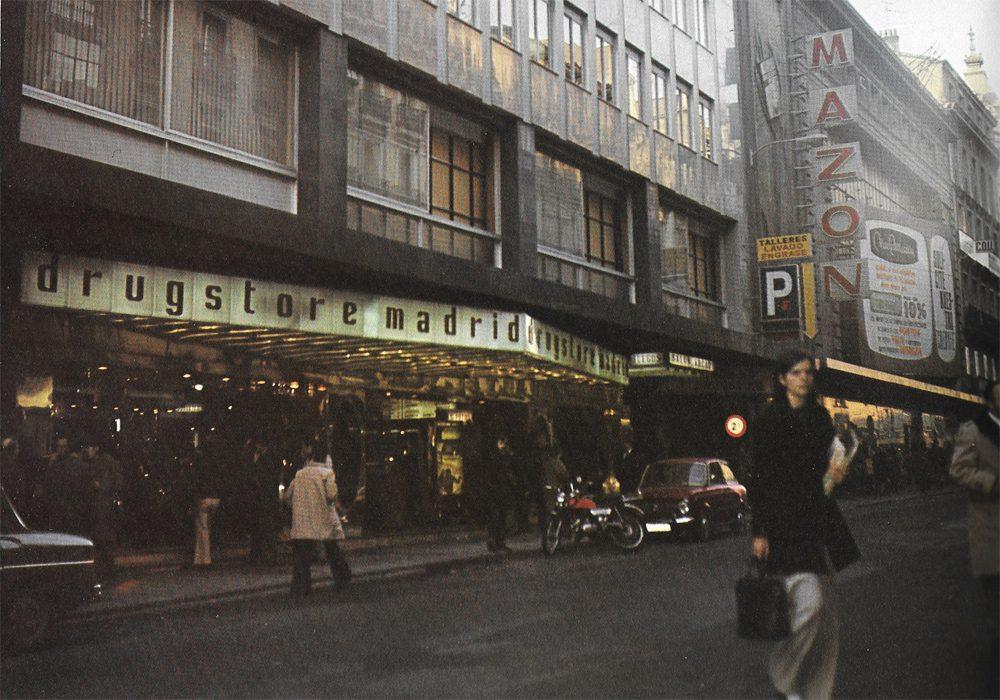 Drugstore de Fuencarral (C/Fuencarral 101, donde actualmente hay un VIPS)