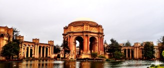 Mile 20: Palace of Fine Arts, from Baker