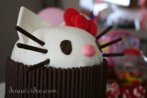 Hello Kitty with Pocky whiskers