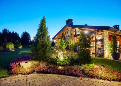 Residential Landscaping Outdoor Lighting