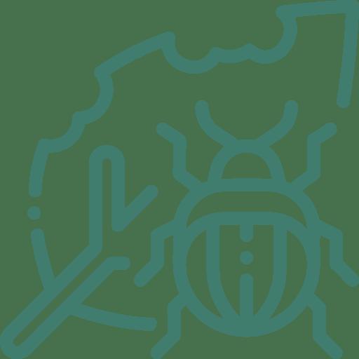 plant pest troubleshooting icon