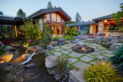 dream home patio fire pit outdoor living