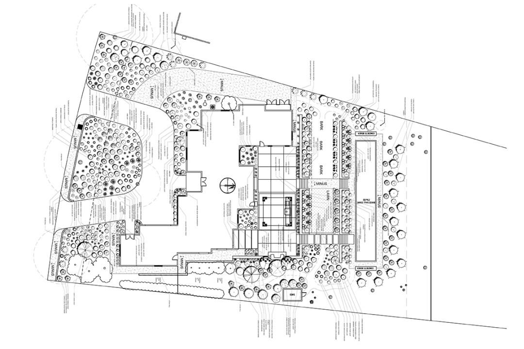 Residential Landscape Plan Design