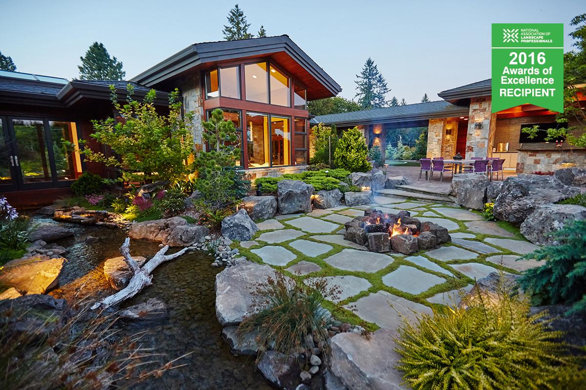NALP award-winning residential landscape