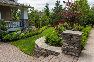 residential landscaping front yard