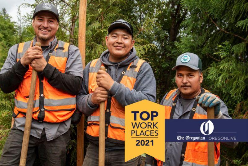Top Workplace 2021 Dennis' 7 Dees crew