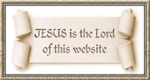 Jesus is the Lord of this website ..