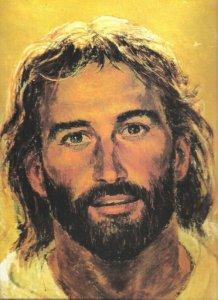 Face of Jesus by Richard Hook