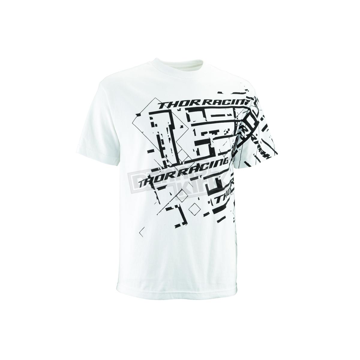 Thor White Schematic T Shirt