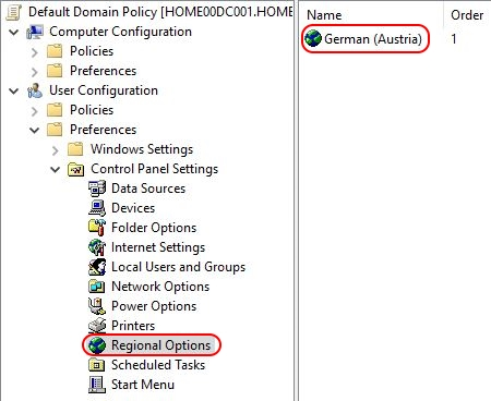 Configuring Regional Settings and Windows locales with Group Policy - Group Policy Regional Settings