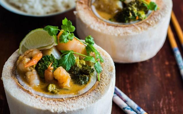 Thai Scallop & Prawn Coconut Curry