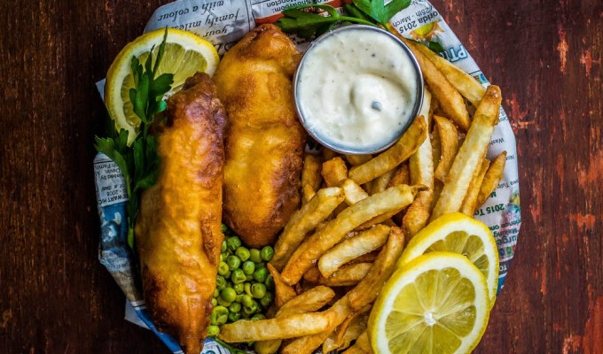 Classic Beer Battered Fish & Chips