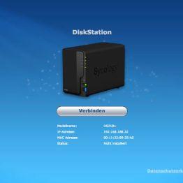 Synology DSM DS218plus Einrichtung-2