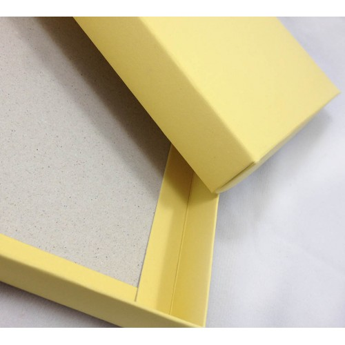 Wedding Invitations Yellow Mailing Box