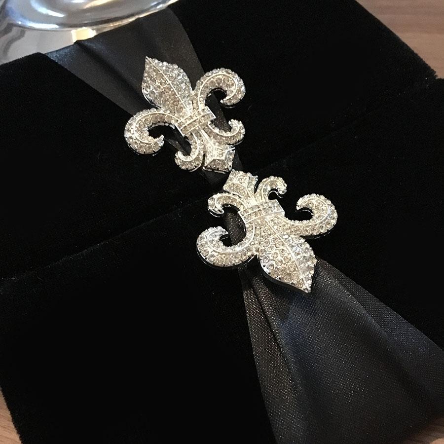 Fleur De Lis Wedding Invitations