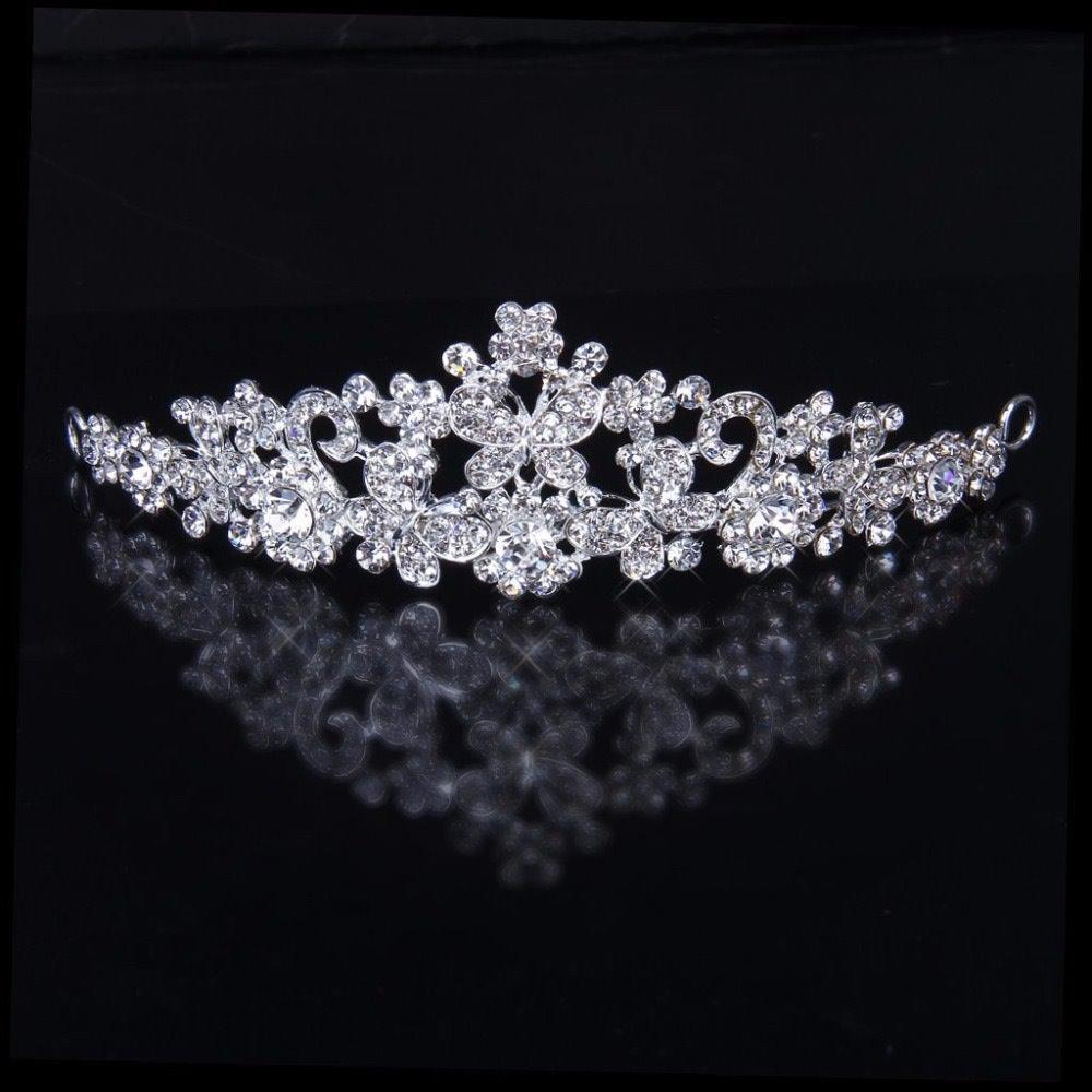 Rhinestone Bridal Crown Wedding Party Bridesmaid Crystal