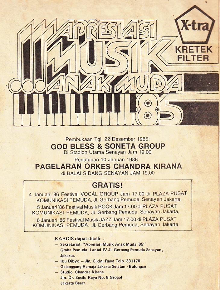 Ketika Soneta Group Bersepanggung Dengan God Bless (2/2)