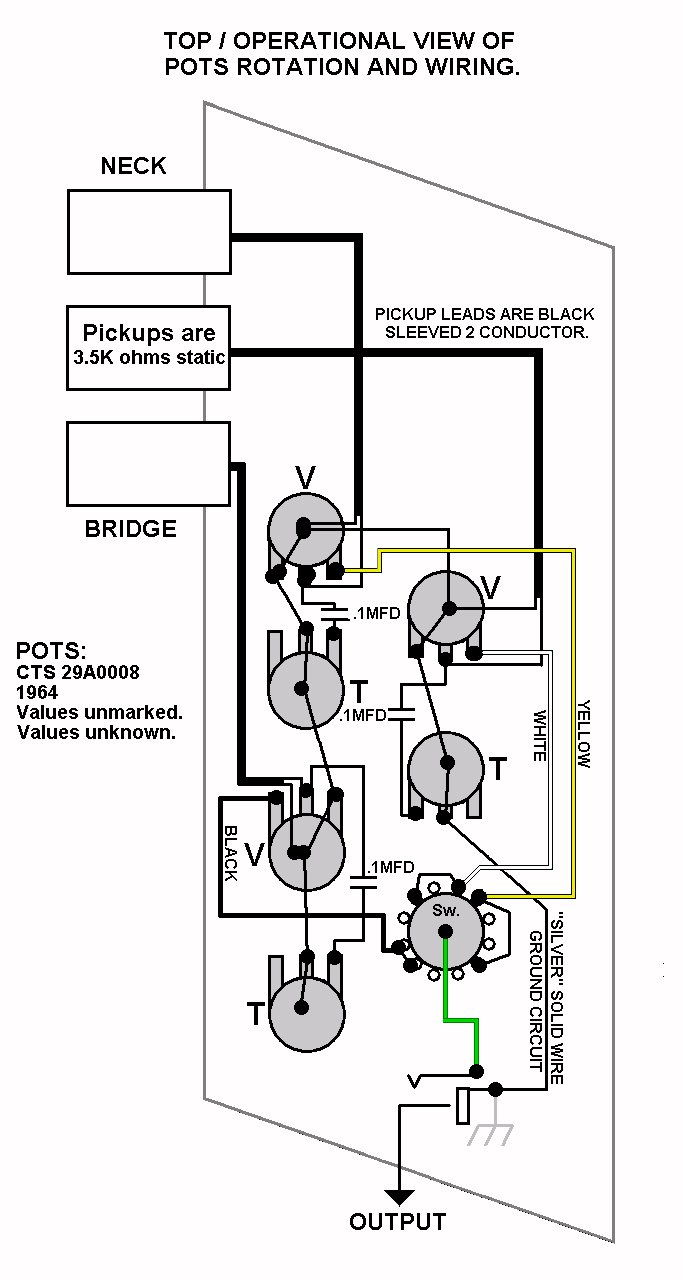 kay guitar wiring diagram free download wiring diagram xwiaw rh xwiaw us Single Pickup Guitar Wiring Diagram Humbucker Guitar Wiring Diagrams