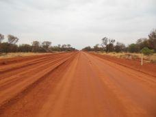 Auf der Tanami Road nach Alice Springs
